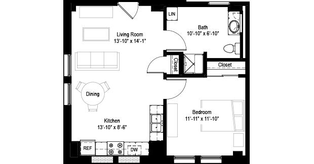 Guest Suite Floor Plan