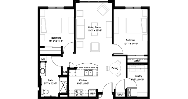 Floor Plans Maria Linden